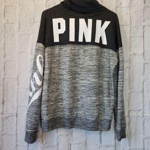 PINK VICTORIA'S SECRET Cowlneck Sweatshirt Small